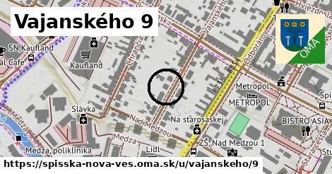 Vajanského 9, Spišská Nová Ves