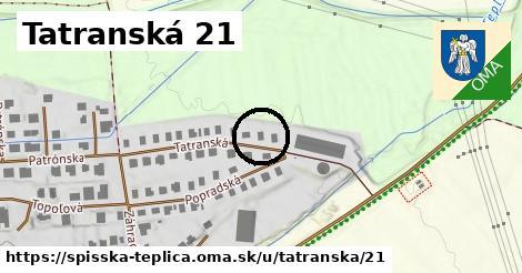 Tatranská 21, Spišská Teplica