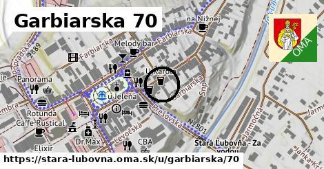 Garbiarska 70, Stará Ľubovňa