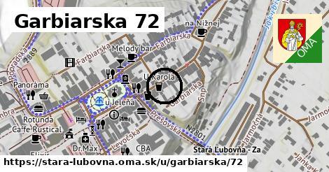 Garbiarska 72, Stará Ľubovňa