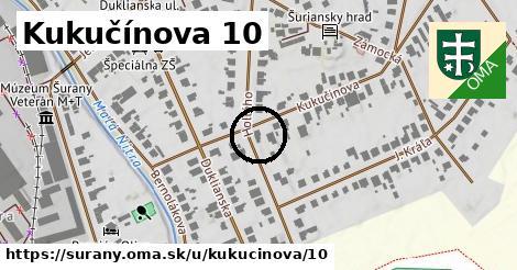 Kukučínova 10, Šurany