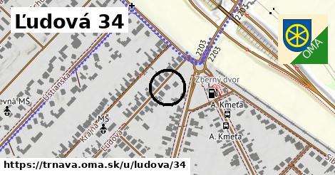 Ľudová 34, Trnava