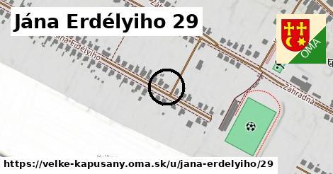Jána Erdélyiho 29, Veľké Kapušany