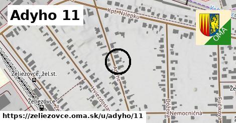 Adyho 11, Želiezovce