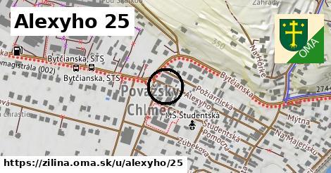 Alexyho 25, Žilina