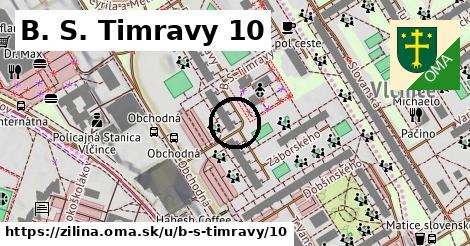 B. S. Timravy 10, Žilina