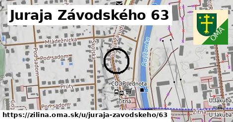 Juraja Závodského 63, Žilina