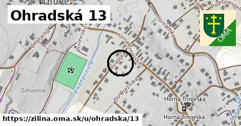 Ohradská 13, Žilina