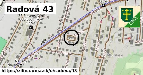 Radová 43, Žilina