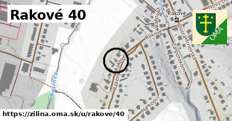 Rakové 40, Žilina