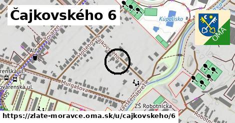 Čajkovského 6, Zlaté Moravce