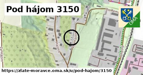 Pod hájom 3150, Zlaté Moravce