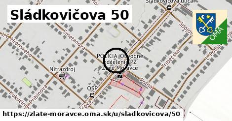Sládkovičova 50, Zlaté Moravce