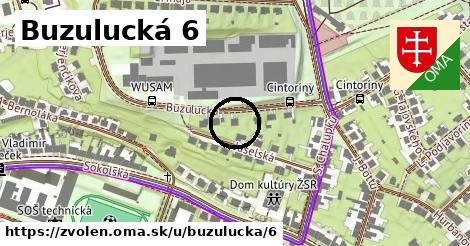 Buzulucká 6, Zvolen