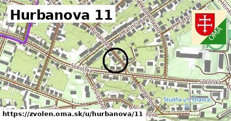 Hurbanova 11, Zvolen