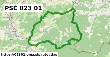 ikona Mapa autoatlas  02301