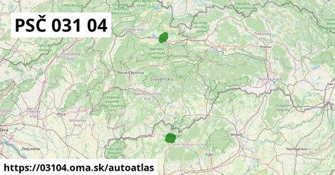 ikona Mapa autoatlas  03104