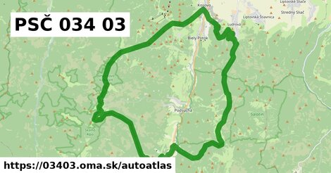 ikona Mapa autoatlas v 03403
