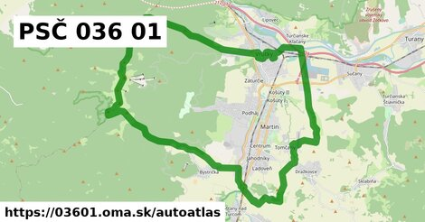 ikona Mapa autoatlas  03601