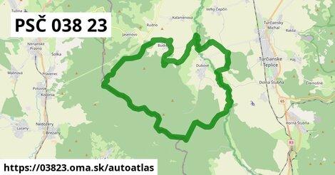 ikona Mapa autoatlas  03823