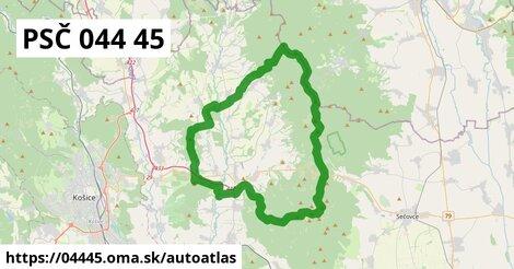 ikona Mapa autoatlas  04445