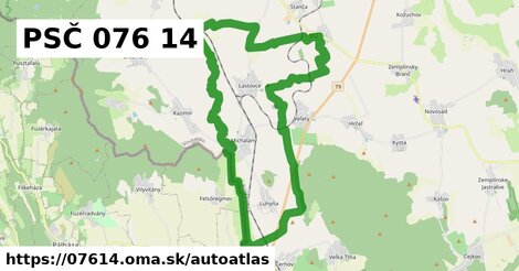 ikona Mapa autoatlas  07614