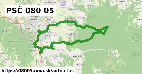 ikona Mapa autoatlas  08005