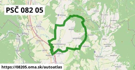 ikona Mapa autoatlas  08205