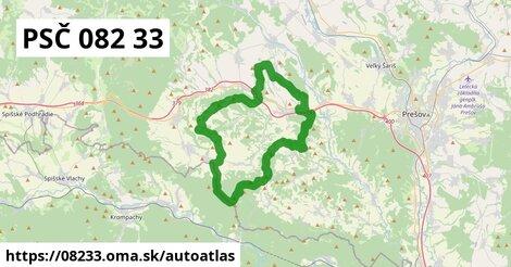 ikona Mapa autoatlas  08233