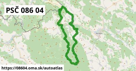ikona Mapa autoatlas  08604