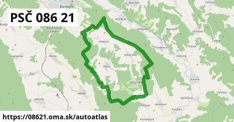 ikona Mapa autoatlas  08621