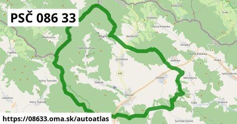 ikona Mapa autoatlas  08633