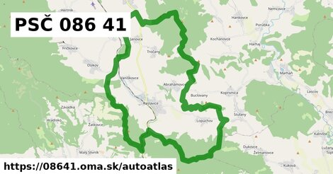 ikona Mapa autoatlas  08641
