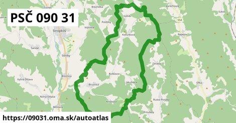 ikona Mapa autoatlas  09031