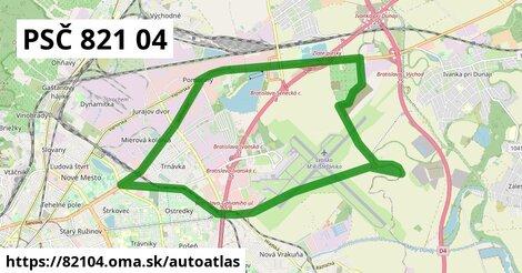 ikona Mapa autoatlas  82104