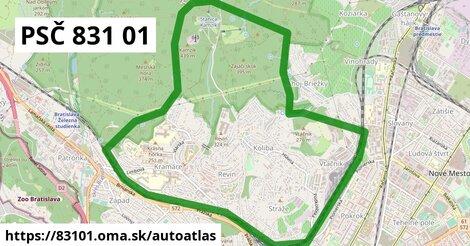 ikona Mapa autoatlas  83101