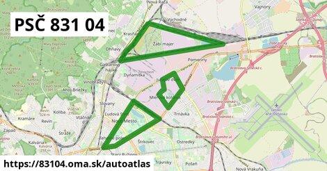 ikona Mapa autoatlas  83104
