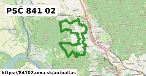 ikona Mapa autoatlas  84102