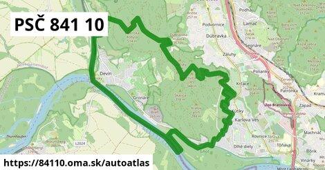 ikona Mapa autoatlas  84110