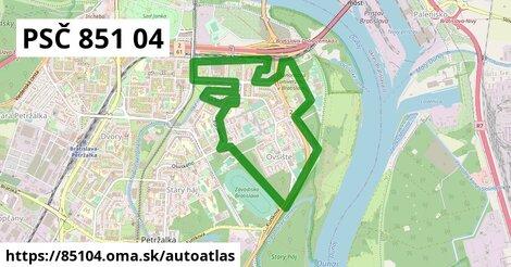 ikona Mapa autoatlas  85104