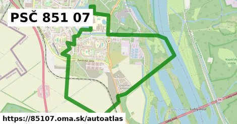 ikona Mapa autoatlas  85107