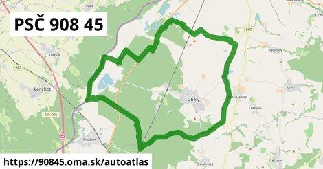 ikona Mapa autoatlas  90845