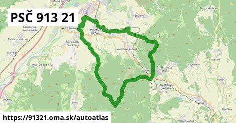ikona Mapa autoatlas  91321