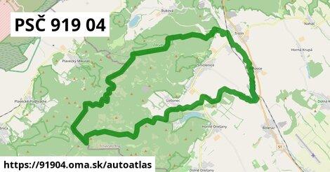 ikona Mapa autoatlas  91904
