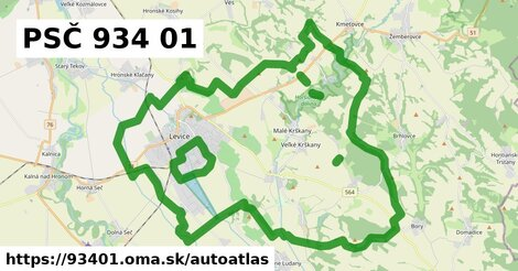 ikona Mapa autoatlas  93401