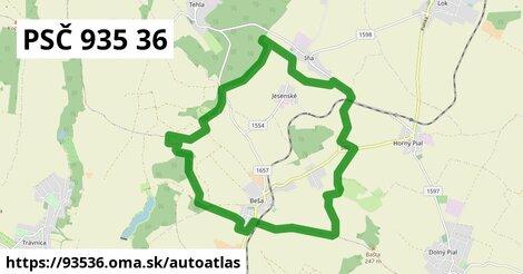ikona Mapa autoatlas  93536