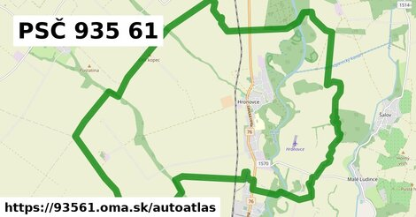 ikona Mapa autoatlas  93561