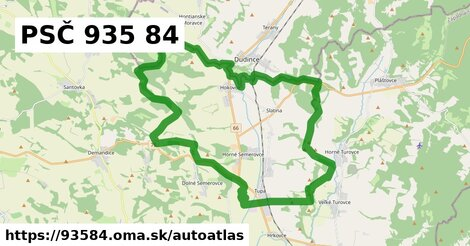 ikona Mapa autoatlas  93584