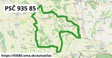 ikona Mapa autoatlas  93585