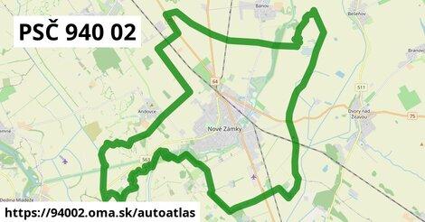 ikona Mapa autoatlas  94002